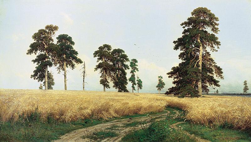 Иван Шишкин. Рожь. 1878.