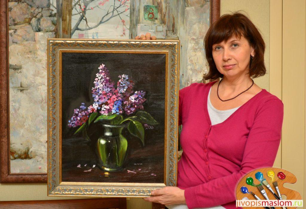 цветы в живописи современных художников