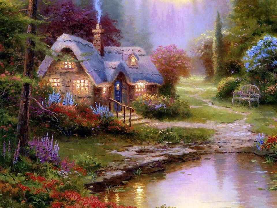 Сказочный домик…