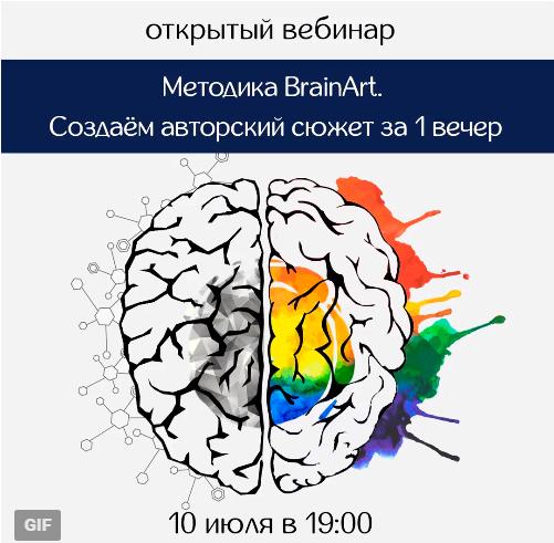 Методика BrainArt. Создаем авторский сюжет за 1 вечер