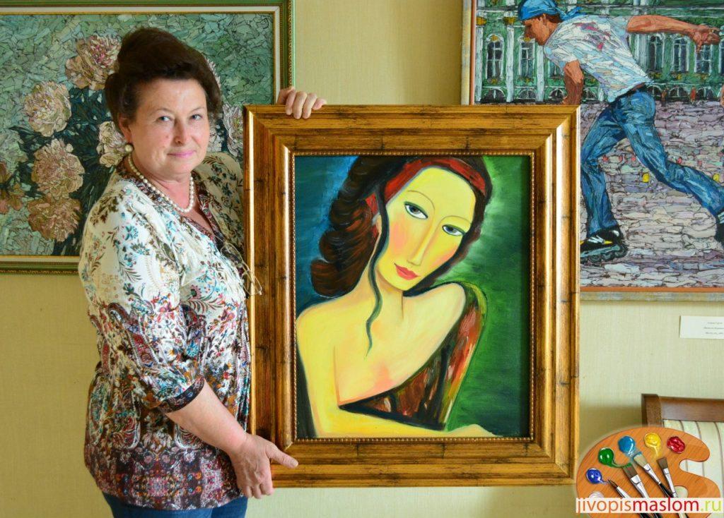 женский портрет в живописи