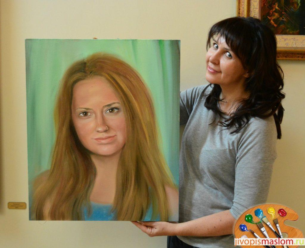Уроки живописи портрет маслом